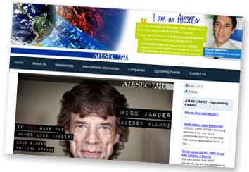 AIESEC RMIT Website