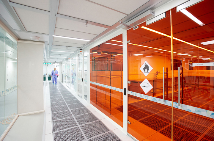 Corridor and orange window of micronano nerve centre