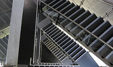 RMIT Staff page Staircase image