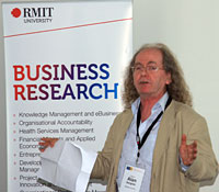 Professor Alan Sangster, Middlesex University Business School, London.