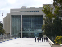 High Court of Australia, venue of grand final competition.