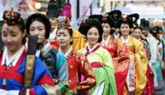 Korean women in traditional costumes – image credit Republic of Korea via flickr.