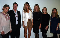 <em></em>Gabriella Somervaille, Graham Airey, Erin McNaught, Caryl Hertz, Kellie Warwick and Maria Boctor<em>.</em>