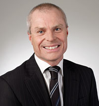 Professor Ian Palmer, Pro Vice-Chancellor and Vice President Business.