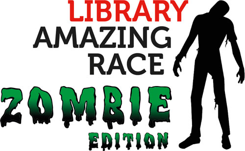 Library Amazing Race: Zombie edition
