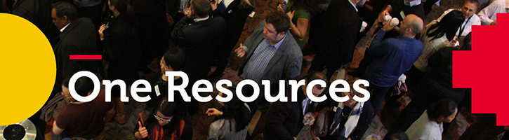 One Resources Banner Image