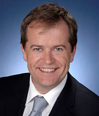 Bill Shorten, Assistant Treasurer and Minister for Financial Services and Superannuation.