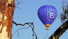 EU hot air balloon