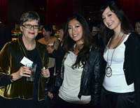 <em></em>Professor Margaret Jackson, Head of the Graduate School of Business and Law, with MBA Alumni Vivi Tan and Holly Klintworth<em>.</em>