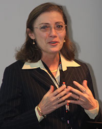 Professor Donna Street, University of Dayton, Ohio.