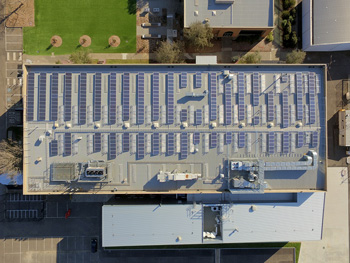 Bundoora east solar panels