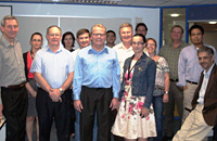 <em></em>RMIT hosts a training workshop on the Capstone business simulation.