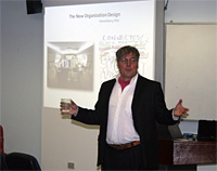 <em></em>Professor Daved Barry from Copenhagen Business School discusses organisation design.