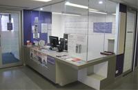 Info Corner Desk.