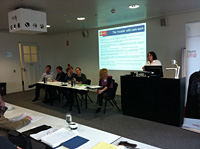 "<em></em>International researchers attend the ""Voices at Work"" Australasian Meeting."