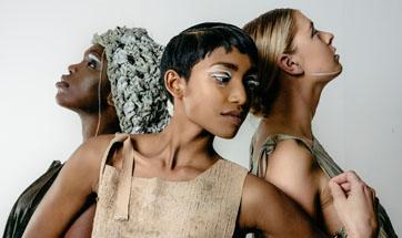 Anthropocene fashion exhibition