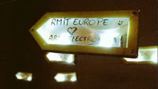 Hashtag RMIT Europe.